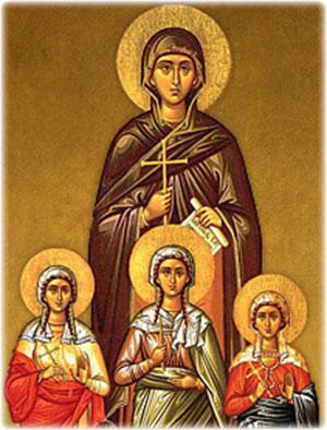Sophia the Martyr, by Sofia Kioroglou
